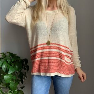 Joie linen sweater M medium